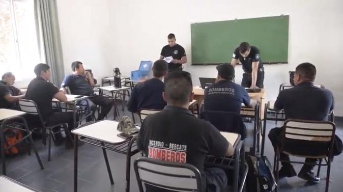 Formacion Brigada de explosivos Viedma