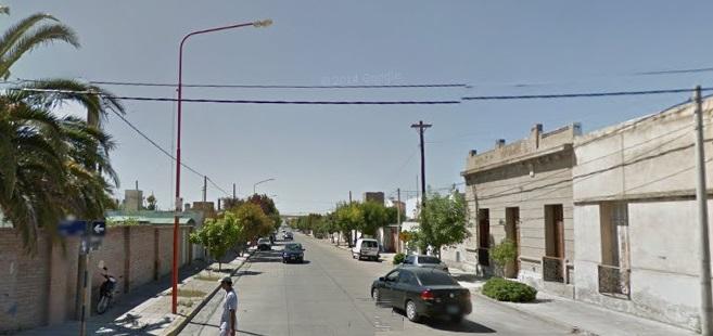 Ambos robos fueron en la calle Barbieri en la noche del viernes 4