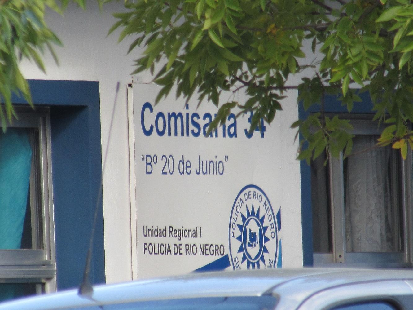 Intervino personal de la Comisaría 34