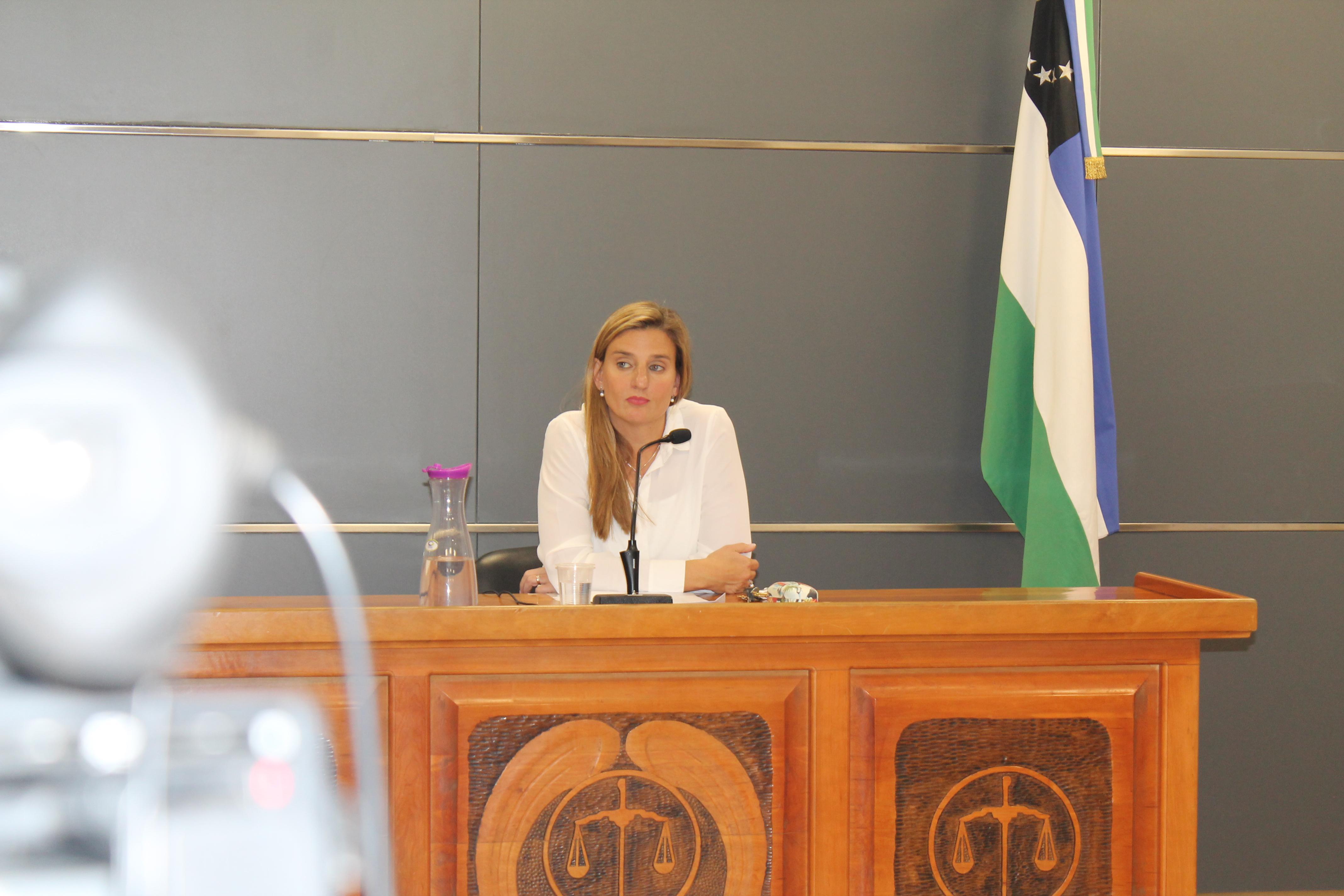 Jueza de Garantías Romina Martini