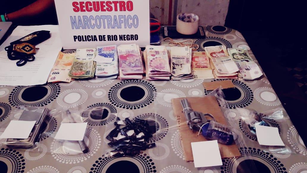 drogas y armas en Cipolletti